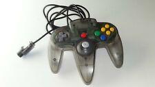 Nintendo N64 Controller OEM Original Funtastic Smoke Clear Grey TESTED