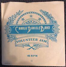 "CHARLIE DANIELS BAND: ""VOLUNTEER JAM"" PART 1, PART 2 & PART 3 (1974 KAMA SUTRA)"