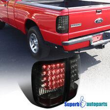 For 2006-2011 Ford Ranger Smoke Rear LED Tail Lights Brake Lamps