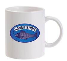 Gone Fishing personnalisé Tasse Papa drôle Carp cadeau hommes Pêcheur Poisson