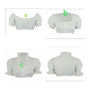 Dirndlbluse Bluse Trachten bluse Dirndl bluse Weiß Trachten verschiedene Modelle