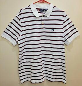 Chaps Ralph Lauren Polo Shirt Men's Size Large L/G