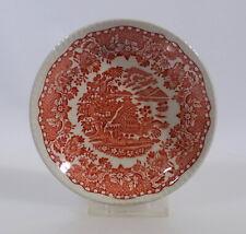 Woods Burslem Seaforth in rot Untertasse für Kaffeetasse Keramik England mehrere