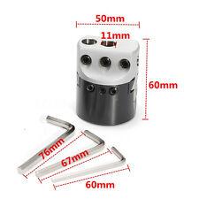 "2"" 50mm Lathe Boring Bar Milling Holder Boring Head  For MT2 MT3 R8 Shank 12mm"