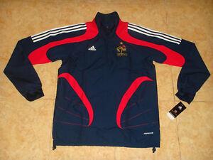 France World Champions Soccer Windbreaker FFF Adidas Coat Football Wind Jacket