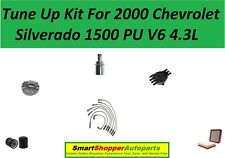 Tune Up Kit for 2000 Chevrolet Silverado 1500 PU V6 4.3L Distributor Cap Rotor F