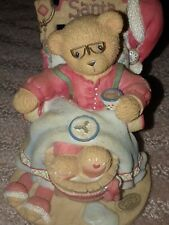 """Cherished Teddies Santa """"A Little Holiday R & R"""" 1998"""