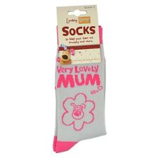 Lovely Boofle Mum Socks Size 4-7 One Pair Birthday Christmas Gift Idea