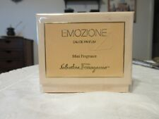 Salvatore Ferragamo Emozione Eau De Parfum .7 Oz. 20 Ml Made Italy *New Sealed*