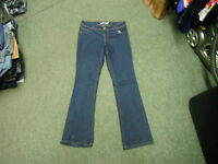 "Dorothy Perkins Bootcut Jeans Size 10R Leg 31"" Faded Dark Blue Ladies Jeans"