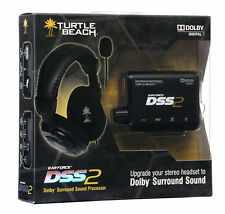 Turtle Beach Ear Force DSS2 Dolby Digital Surround Sound Amplificada Procesador Nuevo