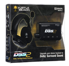 Turtle Beach Ear Force DSS2 Dolby Digital Surround Sound Amplified Processor new