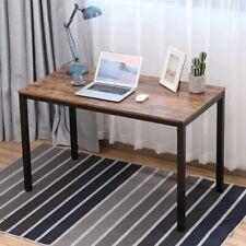 "Modern Simple Design Home Office Desk 47"" L Computer Table Desktop Study Writing"