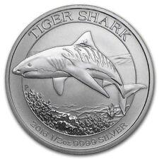 Australia Tiger Shark 2016 50 cents. 0,5 OZ (15,55 gr.) Argento 999 Silver Perth