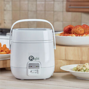 Right One-Touch Mini Multi Cooker - 1L, White, New