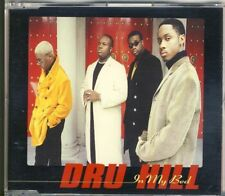 DRU HILL - in my bed  4 trk MAXI CD 1996