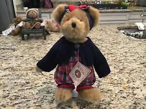 """Retired Boyds Bear Bobbi Jo Bearican ~ Style #904252 ~ 12"""" Tall ~ New with Tags"""