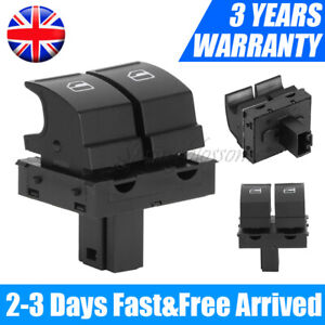 NEW ELECTRIC WINDOW SWITCH DRIVER SIDE FOR SKODA FABIA MK2 ROOMSTER 1Z0959858 UK