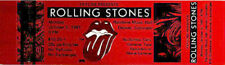 ROLLING STONES 1981 Unused Concert Ticket DENVER