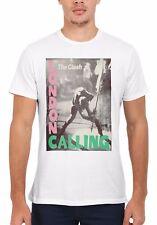 The Clash London Calling Rock Punk Men Women Vest Tank Top Unisex T Shirt 1877