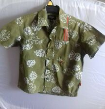 Mexx for kids age 3/4 years khaki green shirt, worn once
