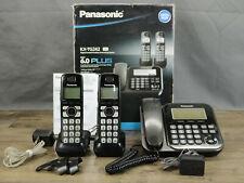 Panasonic KX-TG242SK  Expandable Digital Cordless Answering System w/ 2 Cordless