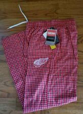 NWT Youth NHL DETROIT RED WINGS FLEECE SLEEP PAJAMA LOUNGING PANTS SIZE M CCM