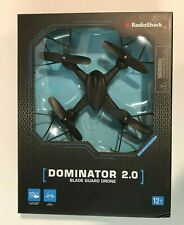 Radio Shack Dominator 2.0 Quadcopter 2.4GHz 4CH 6 Axis LED Eyes RC Drone
