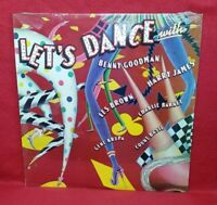 LET'S DANCE with BENNY GOODMAN HARRY JAMES COUNT BASIE MONO LP - SEALED