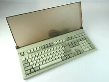 Focus FK-2001 Vintage Clicky Keyboard (Alps SKCM Pine White) As-Is With Cover!