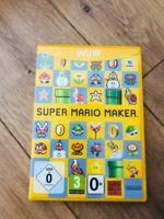 jeu Super Mario Maker - Jeu nintendo  WII U en bon etat avec boitier et cd