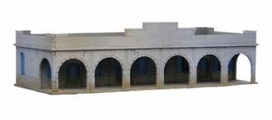 North African/Colonial Souk Single Storey Building 20mm MDF Sarissa Precision...