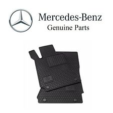 For Mercedes E550 4Matic Floor Mat Front & Rear Set All-Weather Black Genuine