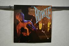 "David Bowie Lets Dance 1983 Emi double sided promo poster flat 12""x12"" Vg+ Condi"
