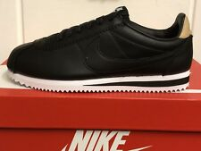 Mens Nike Classic Cortez Leather Black Branded Footwear Shoes Trainers  Casual 6.5 UK 5b067b50d8