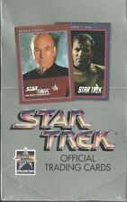 2 FACTORY SEALED BOXES - COMPLETE Star Trek 1991 25th Anniversary Trading Cards