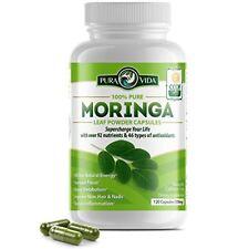 Moringa Oleifera Leaf Powder Capsules Pill Energy Immune Booster Antioxidant
