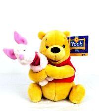 "Disney Winnie the Pooh Plush Gund 100 Acre Collection Stuffed Teddy Bear 10"""
