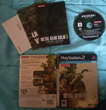 Video Gioco Retro Game Sony Play Station PS 2 ITA Metal Gear Solid 3 Limited MGS