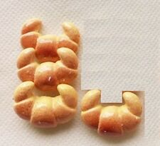 """4 Croissants Rolls for 18"""" American Girl Doll Food Groceries Coolest Accessories"""