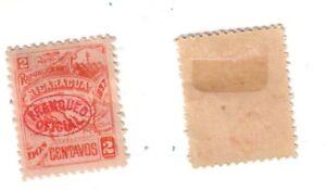 Nicaragua - Scott# O101 Official - Cat $3 - Mint, light hinge
