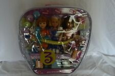 BARBIE DOLLS WEE 3 FRIENDS STACIE MIRANDA ALEXA PARTY PARTY PARTY  NIB
