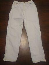 Vtg Gitano High Waisted Mom Jeans Light Wash Size 10 Short 26x26 zipper ankle