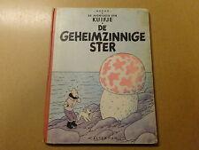 STRIP / KUIFJE 9: DE GEHEIMZINNIGE STER | 1954