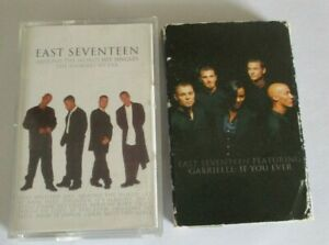 East Seventeen  2 cassettes-around the world hit singles & if you ever