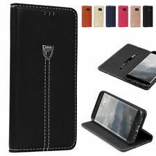 Urcover® Noble Series Faux Leather Case | Premium Smartphone Protective Cover