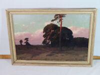 Rudolf Hellgrewe (1860-1926) - Phantastische Landschaft mit Baumgruppen um 1900