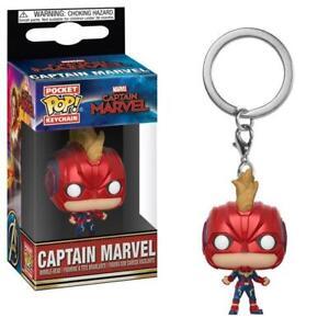 Marvel Captain Marvel Pop! Keychain Vinyl Mini Figure Funko