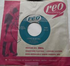 """THE BLUENOTES Forever On My Mind VG+ CANADA 1960 SOUL POP VOCAL GROUP REO 45 7"""""""