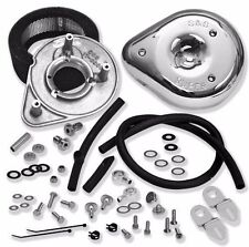 S&S Cycle Classic Tear Drop Air Cleaner Kit 17-0450 For Harley 1993-2009 Models